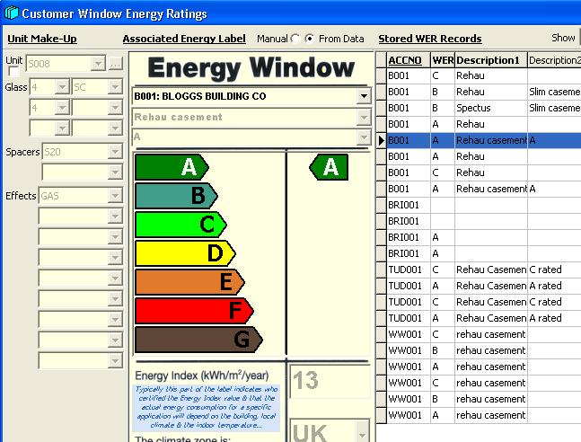 Clear Thinking Window Energy Ratings Wers